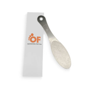 Professional Foot File Lightweight & Strong Stainless Steel